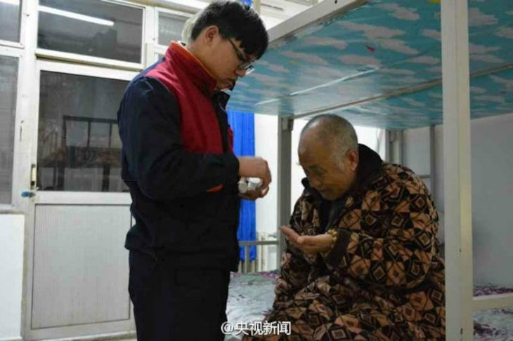 papa e hijo chinos