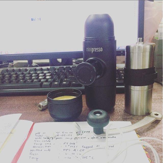 Minipresso en la oficina
