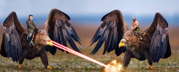 Batalla PS Águila laser