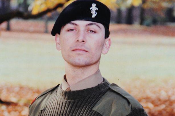 Sargento Lee Nolan del ejército británico