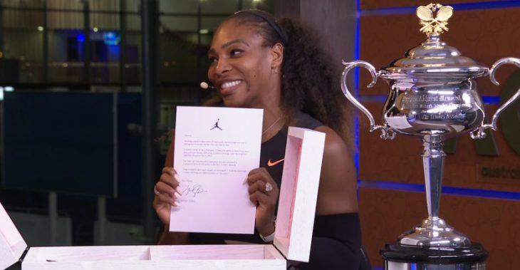 Serena recibe carta de Jordan
