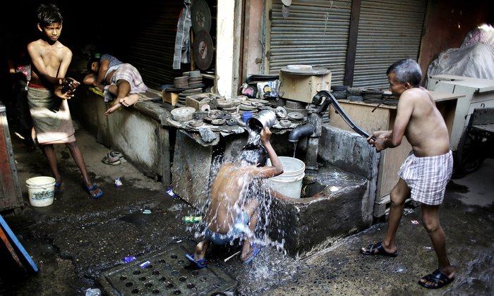 pobres en india