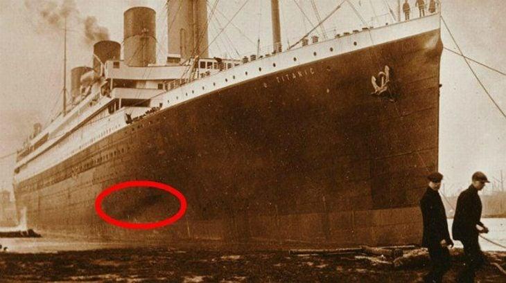 Incendio previo en el Titanic