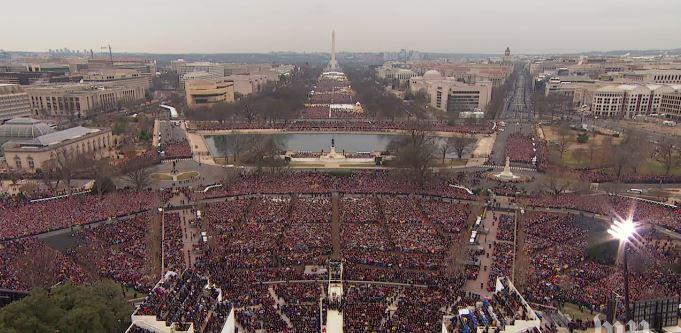 Inauguracion de la presidencia de Barack Obama