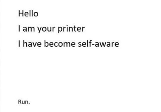 impresora lejana