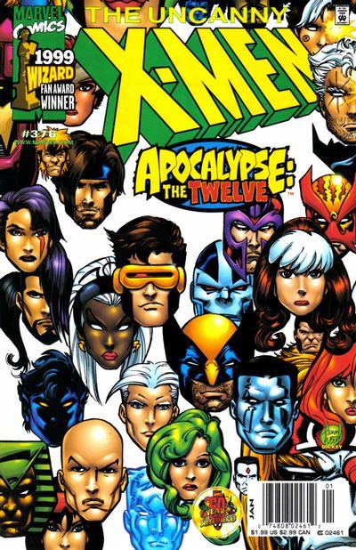 Portada de cómic de X-Men
