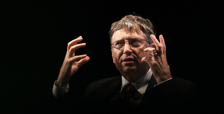 Bill Gates manos arriba obscuro