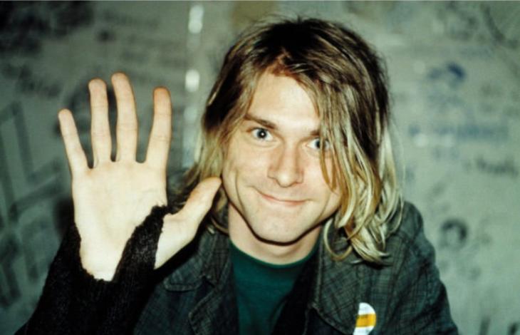 Hombre Curt Cobain 1990