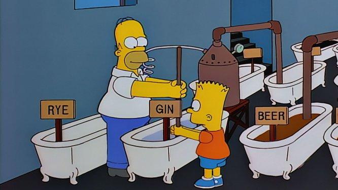 Homero y Bart