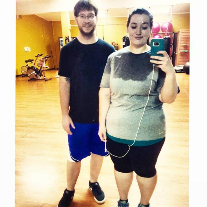 Lexi y Danny selfie