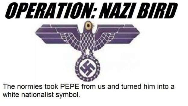 Trash Dove operation nazi