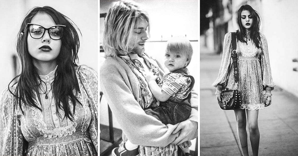 La hija de kurt cobain se ha convertido en una bella modelo altavistaventures Images