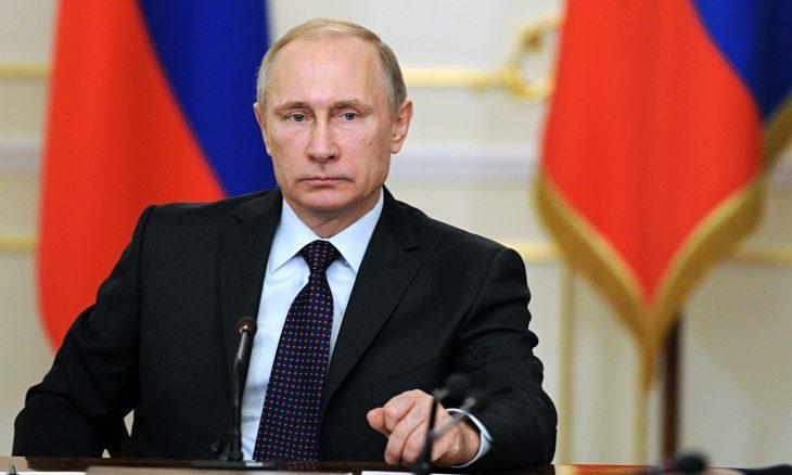 Vladimir Putin banderas