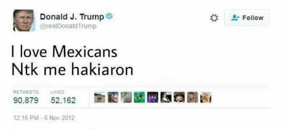 Trump hakiado