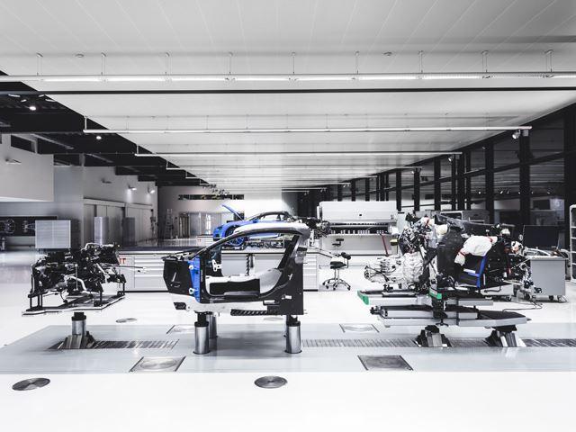 Estaciones de bugatti chiron