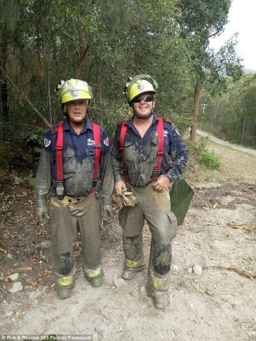bomberos rescatadores