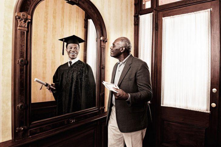 Tom Hussey galería reflexiones hombre graduación