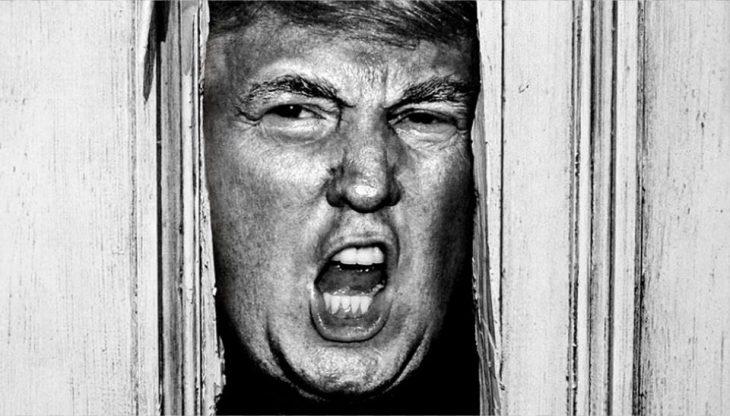 Trump en El resplandor