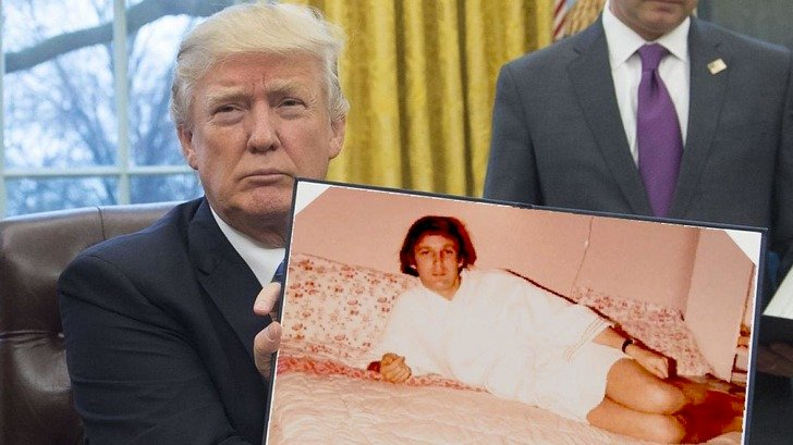 Donald Trump en Batalla de Photoshop