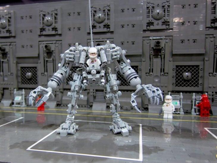 cyborg lego