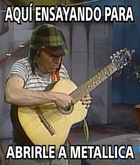 Memes por concierto de Metallica