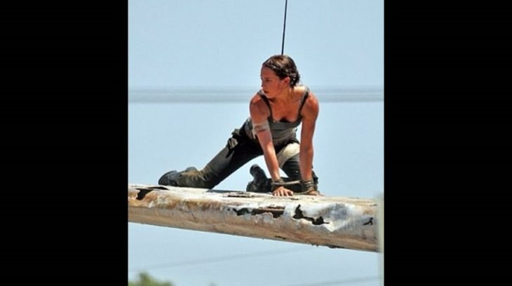 Alicia Vikander Set Lara Croft