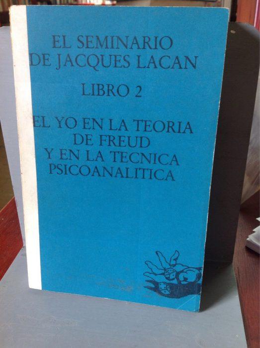 Libro de El seminario de Lacan