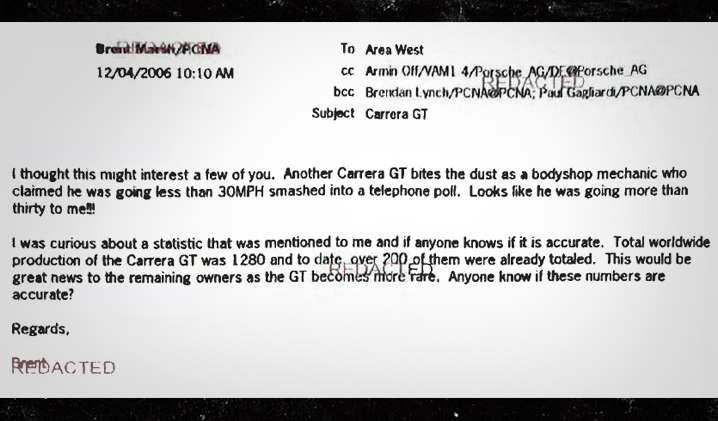 Mails sobre muerte de Paul Walker