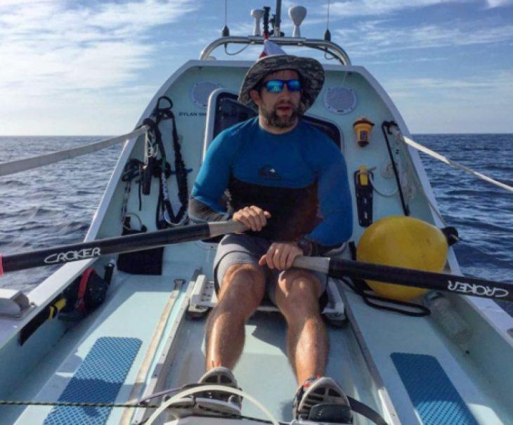 Remando en el Atlántico