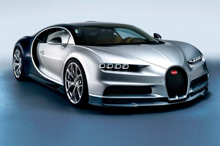 Bugatti Chiron gris
