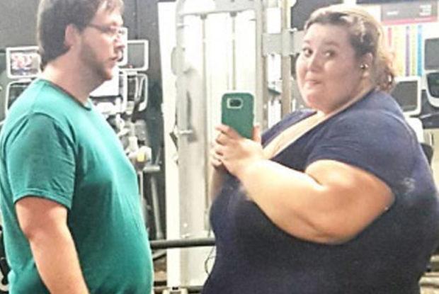 Lexi y Danny en gym