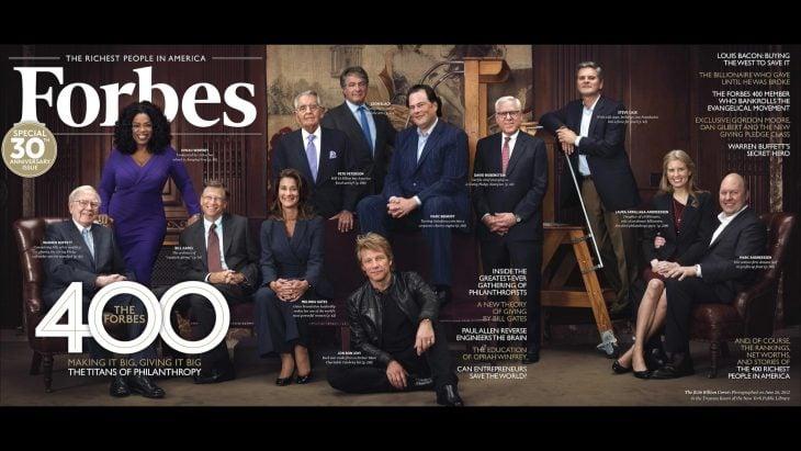 Forbes portada Ricos del mundo