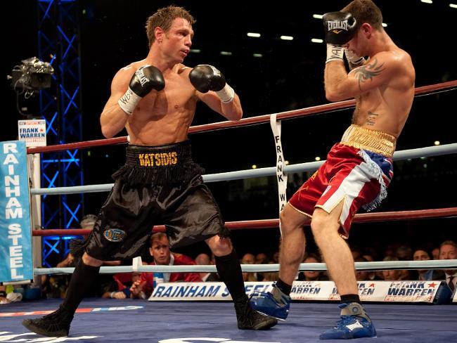 Boxeadores defensa y ofensa