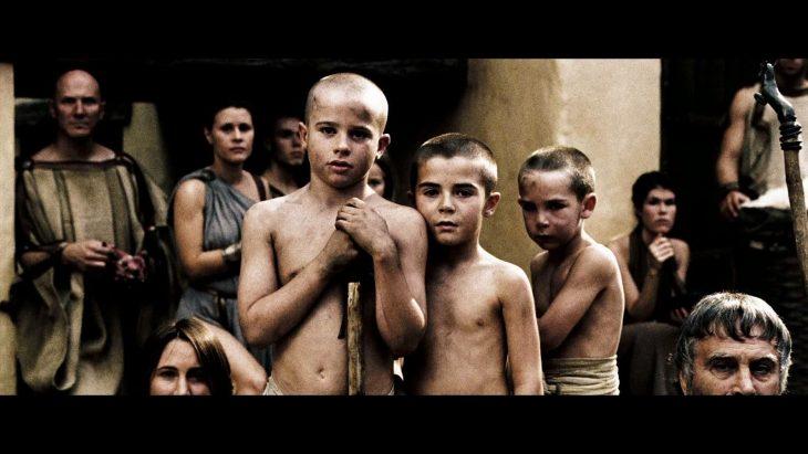 Niños espartanos