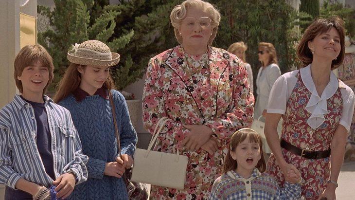Mrs. Doubtfire y familia
