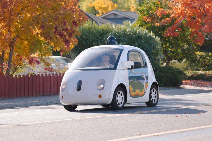 Auto google piloto automático