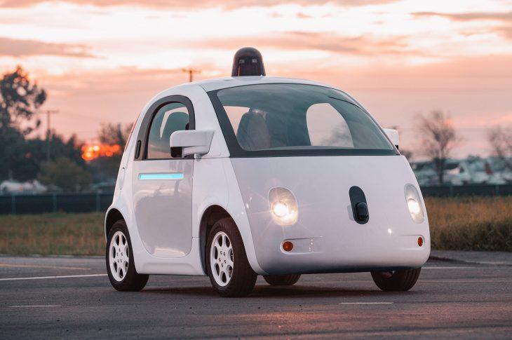 Auto no tripulado de google