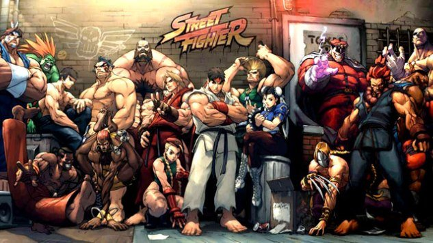 Street Fighter portada juego