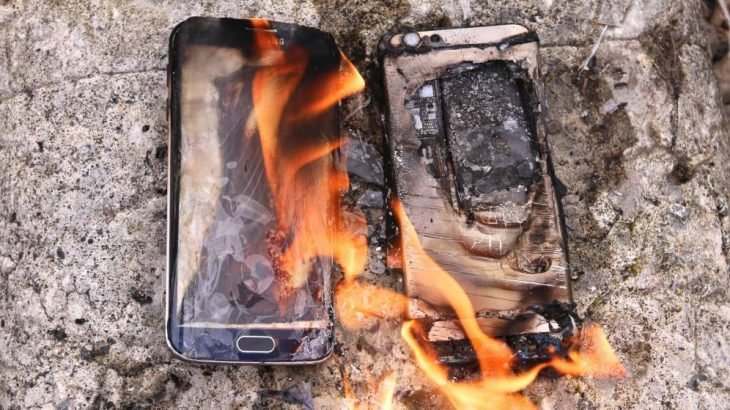 Samsung Note 7 incendio