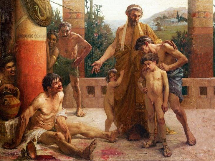 Pueblo espartano