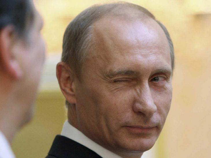 Vladimir Putin guiño
