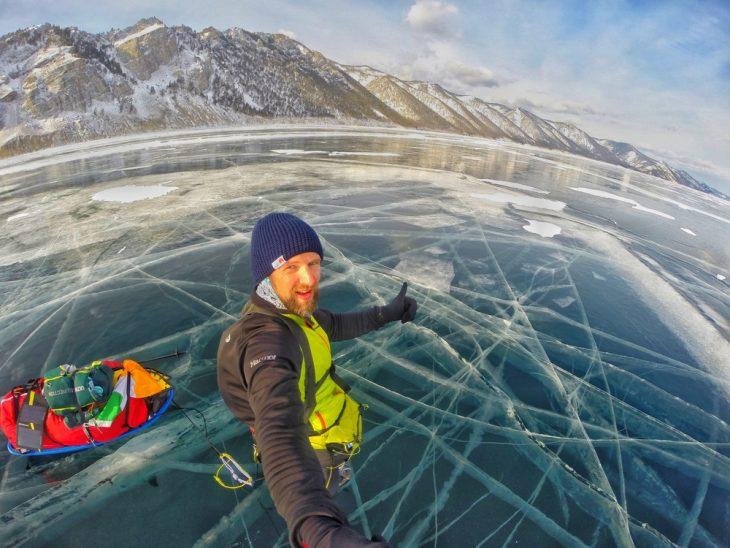 Caminar sobre hielo