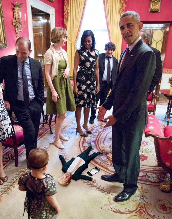 Tiny Trumps Obama