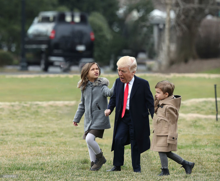 Tiny Trumps niños