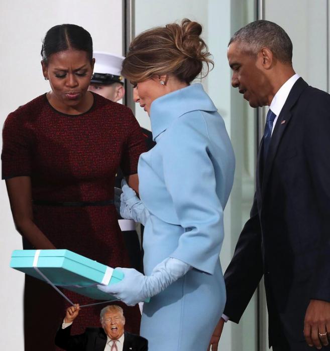 Tiny Trumps Michelle