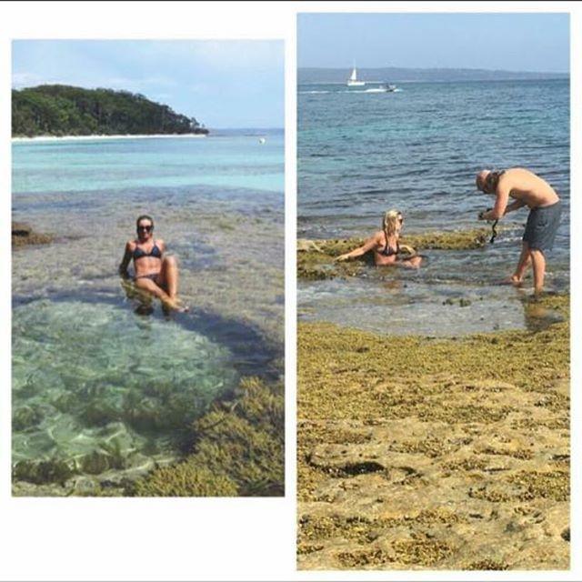 fotos playa pareja