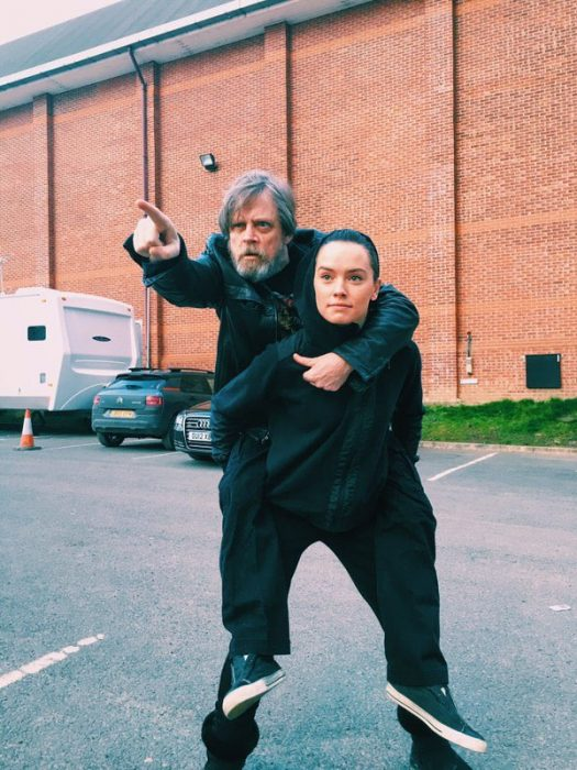 Luke y Rey