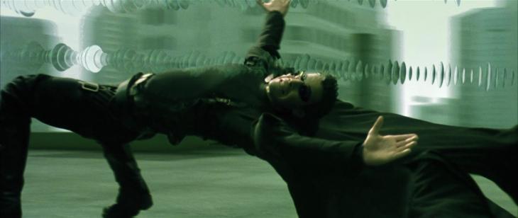 Neo Matrix bullet time