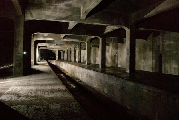 Metro abandonado en Cincinnati