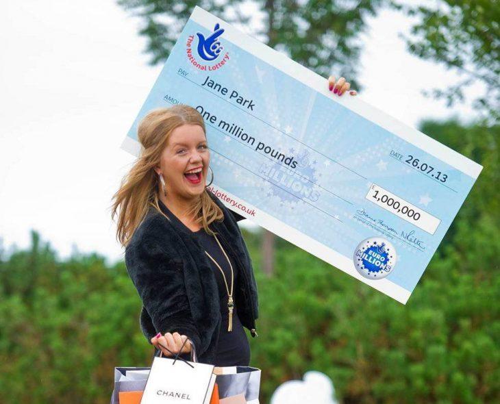 Jane Park euromillion feliz ganadora